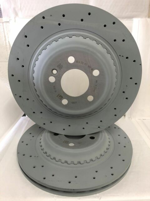 Genuine Mercedes-Benz W222 S-Class REAR AMG Brake Discs A2224231400 X2