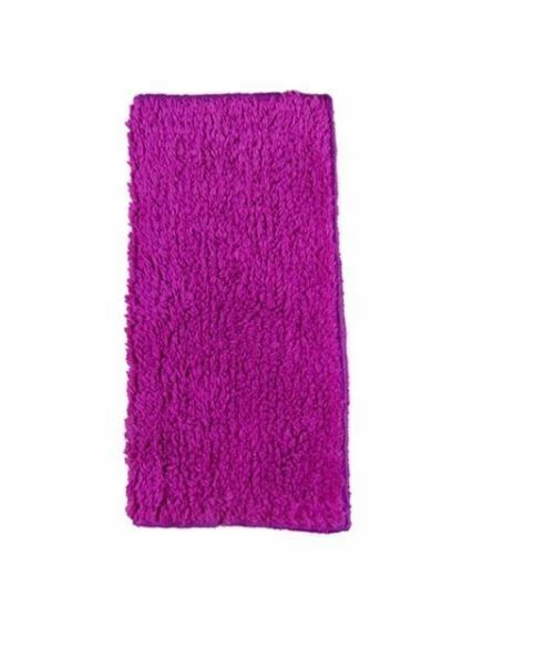 washcloth cleaning PINK Janey Lynn SHAGGIE 100/% Cotton Chenille Dishcloth