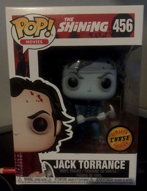 Funko Pop Jack Torrance CHASE Variant The Shining  456 LE Warner Bros Movie