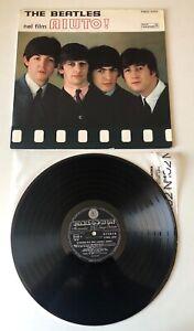 LP ORIGINALE PARLOPHON 1965 THE BEATLES NEL FILM AIUTO! (HELP) STEREO! VINYL NM