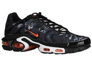 nike air max tn men's shoes black orange nz