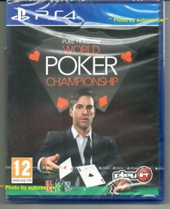 Pure-Hold-039-Em-World-Poker-Championship-034-NUOVO-amp-Sealed-039-PS4-quattro