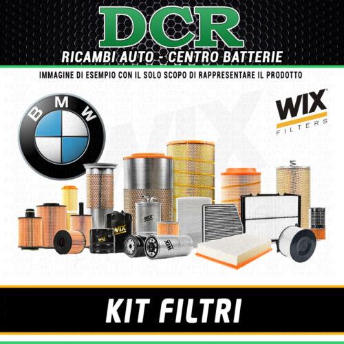 E87 KIT FILTRI TAGLIANDO BMW SERIE 1 118D 122CV 90KW DAL 11//2003 WIX