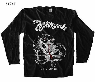 Lovehunter British hard rock band Whitesnake T-shirt sizes S to 6XL