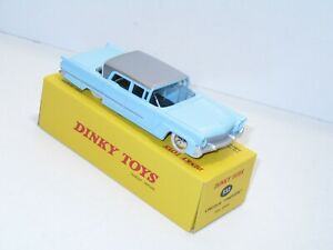 DINKY TOYS ATLAS voiture lincoln première 532 bleu