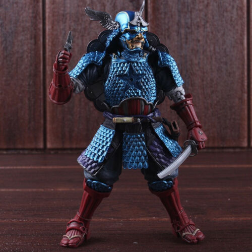 Marvel Manga Realization Samurai Captain America PVC Action Figure Model Toy