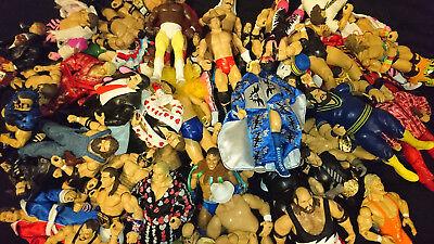WWE Classic Superstars Wrestling Figure Deluxe Exclusive LOT wwe//wcw//ecw