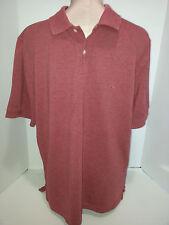 Brooks Brothers Polo Rugby Short Sleeve Shirt Size M Medium Redish Pinkish Italy