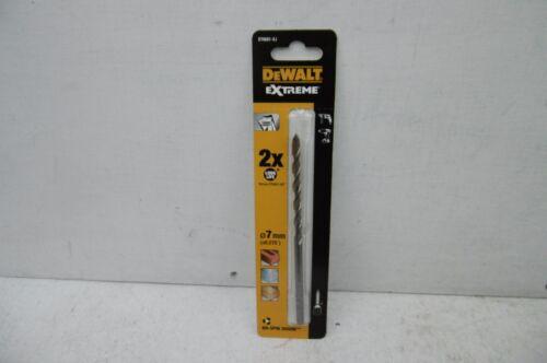 DeWalt DT6681 Extreme 7 mm x 150 mm Brique /& Maçonnerie Drill Bit