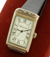 Coldwater Creek Rectangular Quartz Wrist Watch With Box