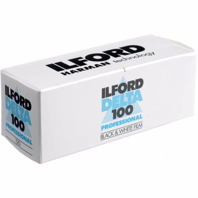 ILFORD DELTA 100  120 Pellicola negativo bianco e nero