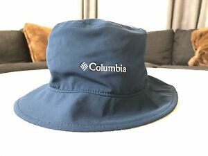 fbfa5aeccf2 NWT Columbia Youth Ashlane Bucket Booney Hat Blue Omni sun bora ...