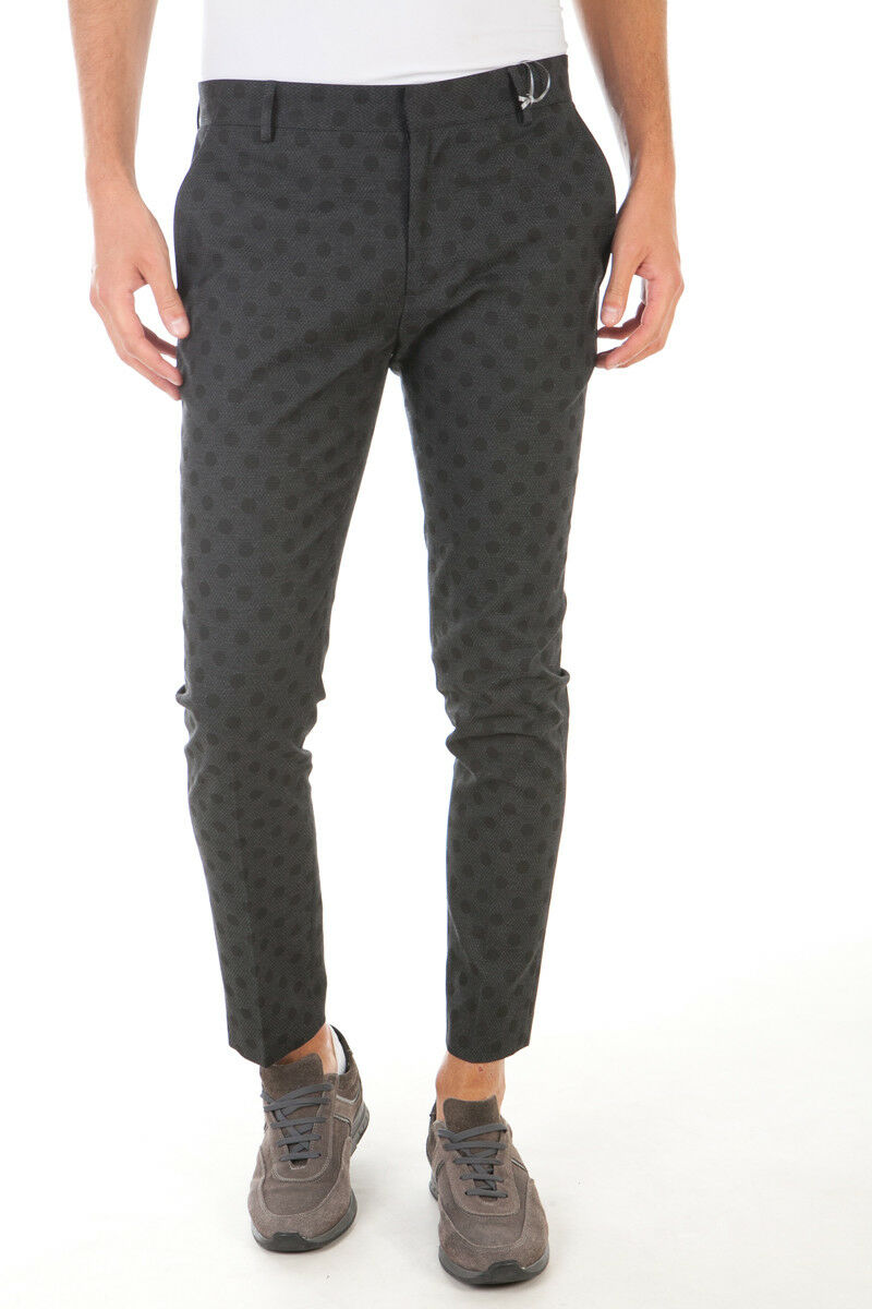 Pantaloni Daniele Alessandrini Jeans Trouser men black P3134N6893606 1