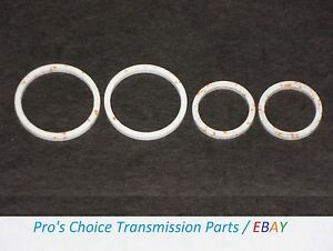Details about Input / Turbine Shaft Sealing Ring Kit---Fits All GM 4L80E /  4L85E Transmissions