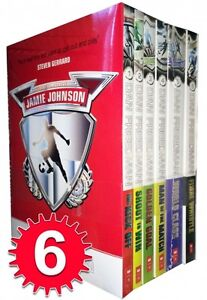 Jamie-Johnson-Football-Series-6-Books-Collection-Set-Pack-Dan-Freedman