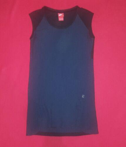 y negro Colorblock Nike Xs Dress talla Tennis Sports azul oscuro wqXPSq1