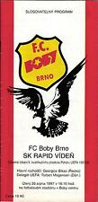 UEFA - EC III 97/98 FC Boby Brno - Rapid Wien, 26.08.1997