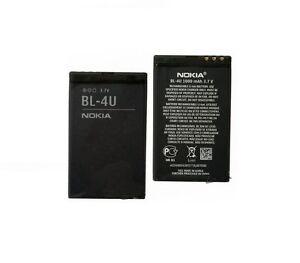 BATTERIA-BL-4U-BL4U-ORIGINALE-PER-NOKIA-3120-5530-8800-E66-E75-nuova-1110mah