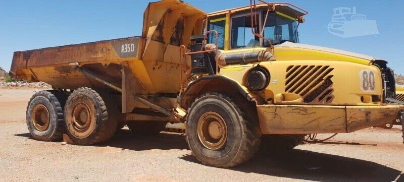 Volvo A35D Stripping for parts