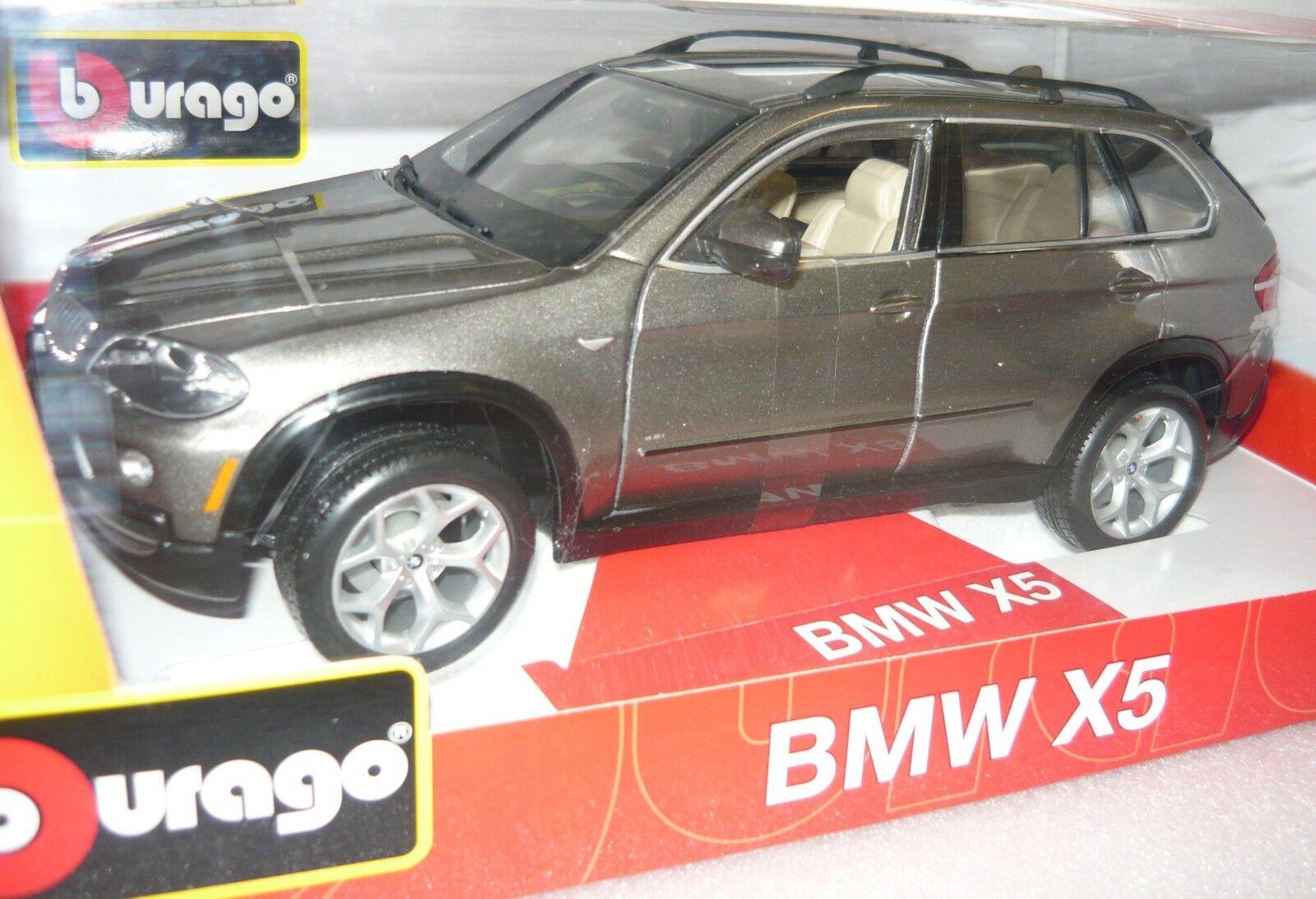 Bburago 18-11020gy (11212), BMW x5, Laiton Couleurs (), 1 19, neu&ovp