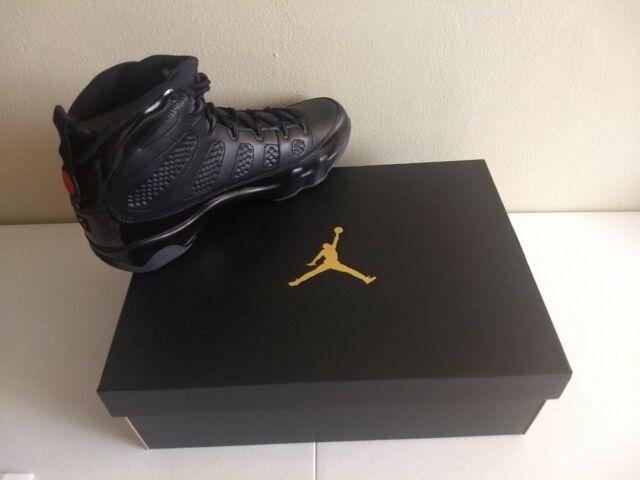 reputable site bb968 c2ea7 2018 Air Jordan 9 Retro IX Bred Black Red 100 Real Size 11.5 Men's