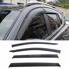 For 13-16 Toyota RAV4 4Pcs Window Visors Injection Guard Wind Deflector Shade