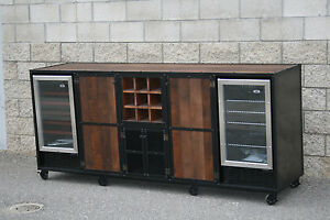 Beverage Cabinet Liquor Cabinet Refrigerator Unit Bar