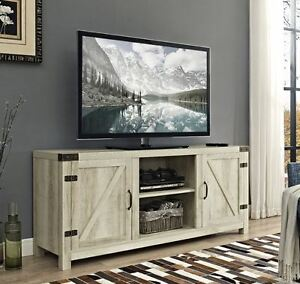 white rustic tv stand 65 Inch TV Stand Rustic Low Profile Media Console Wood Farmhouse  white rustic tv stand