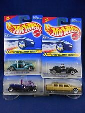 Hot Wheels 1995 - Speed Gleamer Series – Set of 4 - Mattel – MIMP Collection