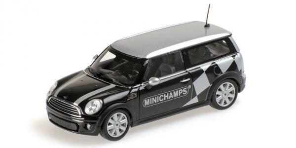 Avoir une maison, avoir de de de l'amour, as-tu Mini Cooper ClubFemme 2008 Black Metallic Minichamps 1:43 Model MINICHAMPS | Exceptionnelle  e1dc05