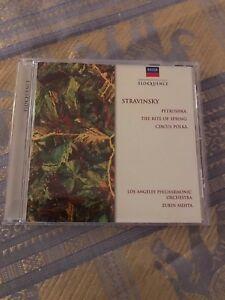 Music-Cd-Stravinsky-Los-Angeles-Philharmonic-Orchestra-Album-Great-Listening