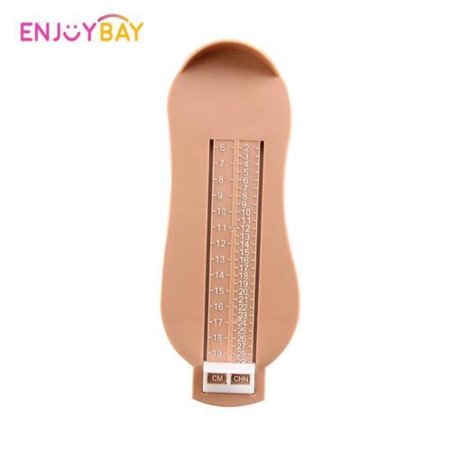 Kids Infant Toddler Baby Foot Measure Gauge Shoes Size Measuring Ruler 0-5Y