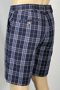 Prospect Cotton Burgundy Blue 36 Ralph Nwt Polo Chino Lauren Pantaloncini 4Wn8IxxX