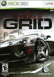 Grid Xbox 360 Game Complete!