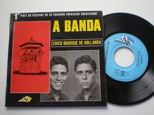 CHICO-BUARQUE-DE-HOLLANDA-A-Banda-3-FRANCE-EP-VINYL-1966-Cool-BOSSA-jazz-MPB
