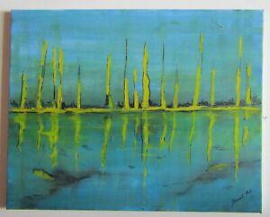à Condition De Tableau Peinture Huile-lumiere - Decool.p -sur Toile