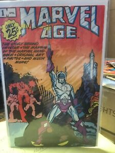 marvel-age-1-NM-1ST-ISSUE-25-CENT-FIRST-ISSUE-OF-MARVEL-AGE