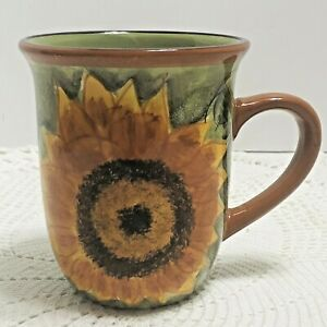 Sunflower-Coffee-Mug-Home-Trends-Ceramic-Fall-Decor-Flowers