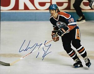 Wayne Gretzky Autographed Signed 8x10 Photo ( HOF Oilers ) REPRINT