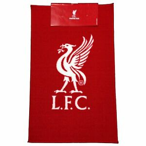 Liverpool-Fc-Rouge-Sol-Tapis-Logo-Football-100-Officiel-Neuf-Rugepcrsliv