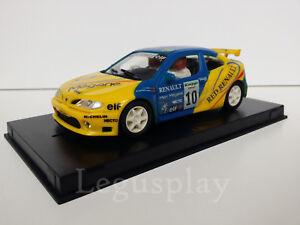 SCX-Scalextric-Slot-Ninco-50143-Renault-Megane-F-Alonso-Rally-Gran-Canaria