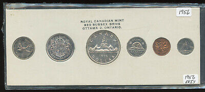Proof Like 1956 Canada 1 Cent From Mint/'s Set