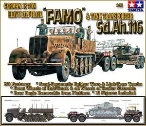 Tamiya 1/35 Famo et transporteur de chars # 35246 4950344992409