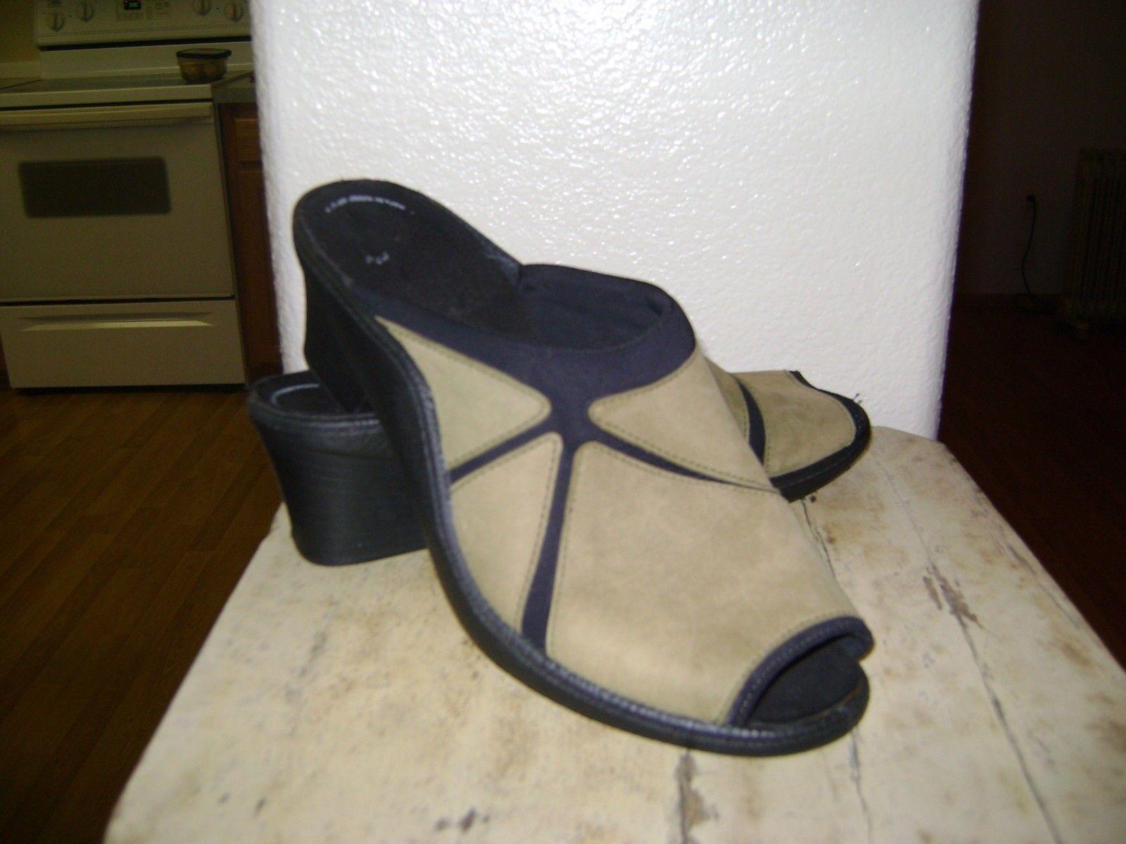 a574b37994032 Romika Olive Comfort Women's Sz 8 - 8.5 39 Heel Mules ntxvwv4347 ...