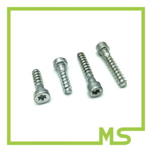 Set aus je 2 Schrauben seitlich und unten für Griffrohr für 026 und MS260