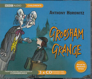 Anthony-Horowitz-Groosham-Grange-3CD-Audio-Book-NEW-Unabridged-FASTPOST