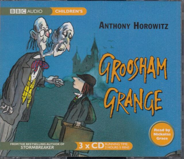 Anthony Horowitz Groosham Grange 3CD Audio Book NEW Unabridged FASTPOST