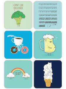 beer mats funny rude gift birthday present Brainbox Candy Chalk drinks coasters