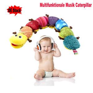 Baby Motorik Spielzeug : baby rasseln spielzeug mit musik wurm raupe pl schtier ~ Watch28wear.com Haus und Dekorationen
