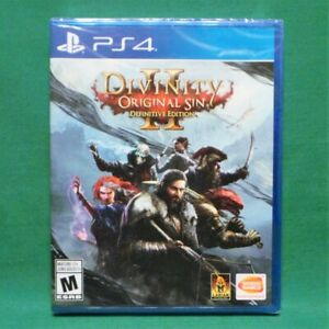 Details about Divinity Original Sin II 2 Definitive Edition (PlayStation 4  PS4) Factory Sealed